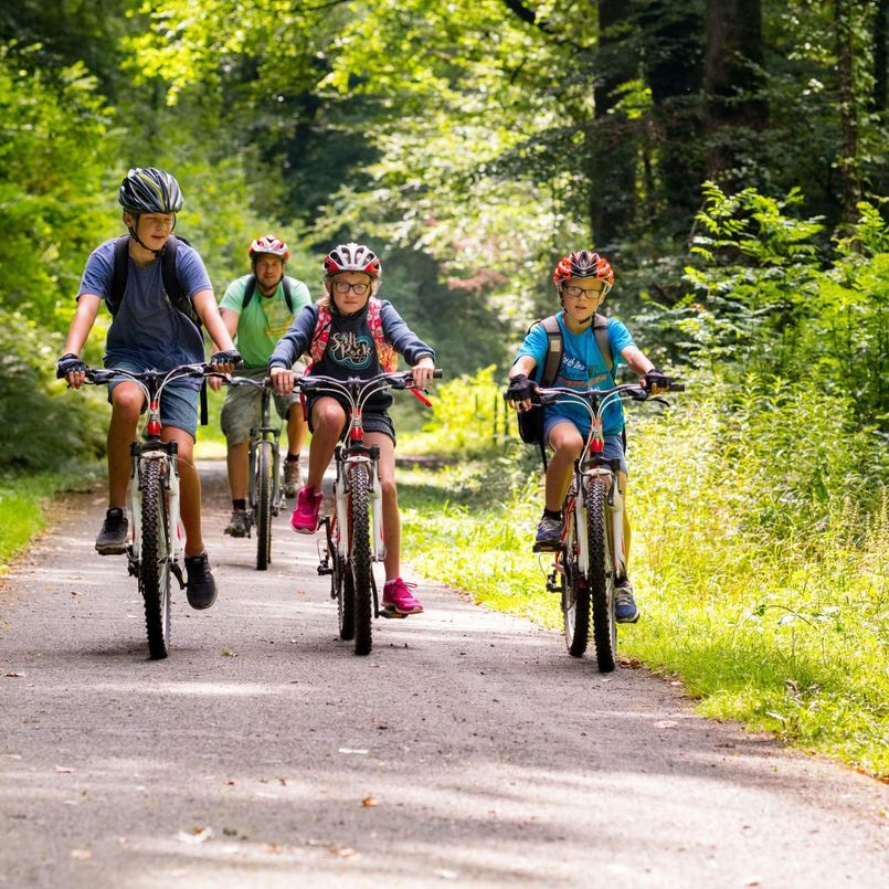 Sustrans family cycling